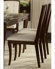 Homelegance Side Chair in Bonded Leather Abramo EL-2125S (Set of 2)