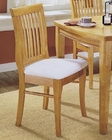 Homelegance Side Chair Liz in Natural Finish EL-763S (Set of 2)