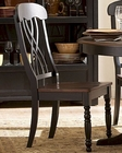 Homelegance Side Chair Ohana in 2-Tone Finish EL1393BKS (Set of 2)