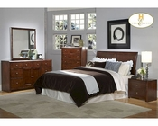 Homelegance Sleigh Bedroom Set Copley  in Espresso EL815-1SET