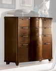 Homelegance Tall Dresser w/ Chrome Feet Zelda EL2238-10