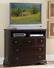 Homelegance TV Chest in Deep Merlot Grandover EL858-11