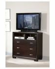 Homelegance TV Chest in Espresso Astrid EL1313-11
