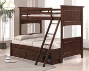 Homelegance Twin / Full Bunk Bed Jordan ELB49-1F