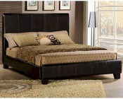Homelegance Upholstered Bed in Dark Brown Copley EL8155K-1CK