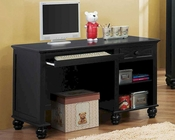 Homelegance Writing Desk Sanibel in Black EL2119BK-15