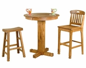 Honey Oak Finish Pub Set SU-1165ROs
