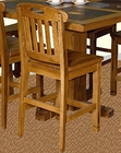 Honey Oak Pub Chair SU-1820RO (Set of 2)