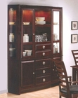 Hutch & Buffet in Merlot Finish AN-550HB