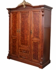 Infinity Furniture 3-Door Wardrobe Louis XVI INLV851-3