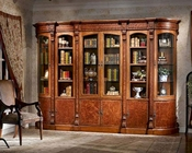 Infinity Furniture Bookcase Wall Louis XVI INLV-SET2