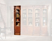 Infinity Furniture Combined 1-Door Bookshelf Louis XVI INLV-551-1