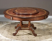 Infinity Furniture Dining Table w/ Lazy Susan Louis XVI INLV712-2