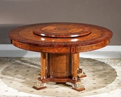 Infinity Furniture Dining Table w/ Lazy Susan Orpheus INOP-712