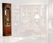 Infinity Furniture Round Corner Bookcase Louis XVI INLV-553