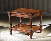Infinity Furniture Square Corner Table Louis XVI INLV630