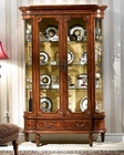 Infinity Furniture Two-Door Display Cabinet Louis XVI INLV751-2