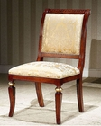 Infinity Greek Style Side Chair in Gold Orpheus INOP-722-2 (Set of 2)