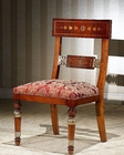 Infinity Greek Style Side Chair in Red Orpheus INOP-720-2 (Set of 2)