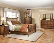 Intercon Bedroom Set Oak Park IN-OP-BR-5825SET