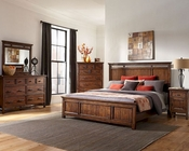 Intercon Bedroom Set Wolf Creek INWK-BR-6160SET