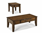 Intercon Coffee Table Set Kona INKATA4822SET