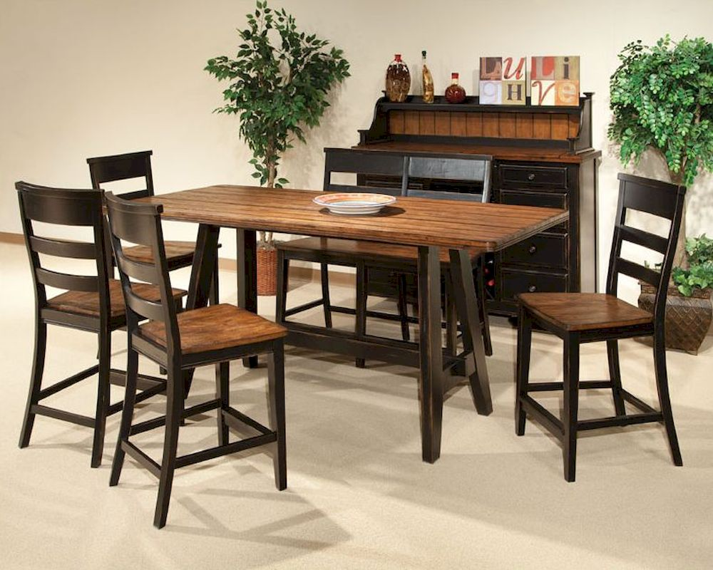 Intercon Counter Height Dining Set Winchester In Wn Ta