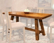 Intercon Counter Height Dining Table Timberline IN-TL-TA-3684G-SAD-TAB