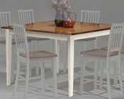 Intercon Counter Height Shaker Leg Dining Table Arlington INAR5454GTAB