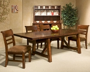 Intercon Dining Room Set Bench Creek IN-BK-TA-40104-RPN-SET