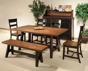 Intercon Dining Room Set Winchester IN-WN-TA-4270-BHN-SET