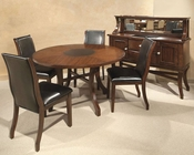 Intercon Dining Set Calais IN-CS-TA-5454L-CHY-SET