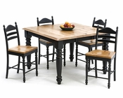 Intercon Dining Set w/ Square Table Hillside Village INHV-5454-SET