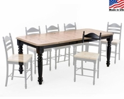 Intercon Dining Table with Leaf Hillside Village INHV-4296TURNGA-TAB