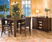 Intercon Kona Mango Wood Counter Height Set  INKA5454GSET