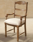 *Intercon Ladder Back Arm Chair La Rive IN-LR-CH-579CA-BAL (Set of 2)