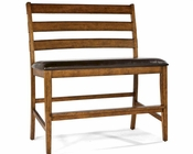 *Intercon Ladder Back Bench Santa Clara INSTBS889CB