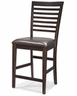 Intercon Ladder Back Counter Stool Kashi INKIBS989C (Set of 2)