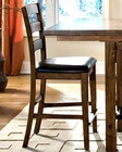 Intercon Ladder Back Counter Stool Santa Clara INSTBS889C(Set of 2)