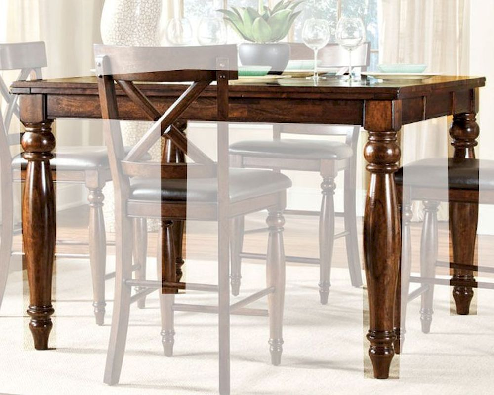 Mango wood dining room table