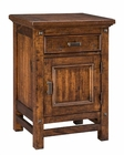 Intercon Night Stand w/ Door Wolf Creek INWK-BR-6101D-VAC-C