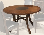 Intercon Round Dining Table Calais IN-CS-TA-5454L-CHY-C