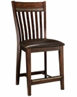 Intercon Slat Back Counter Stool Hayden INHYBS460C (Set of 2)