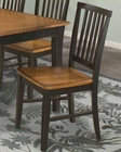 Intercon Slat Back Side Chair Arlington INAR180 (Set of 2)
