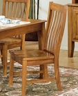 Intercon Slat Back Side Chair Cambridge INCBN260 (Set of 2)