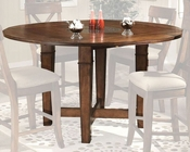 Intercon Solid Birch Counter Height Table Verona INVC4646GTAB