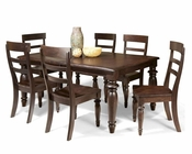 Intercon Solid Birch Dining Set Bridgeport INBR4296SET