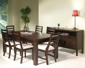 Intercon Solid Hardwood Dining Set Urban Loft INUL4278SET