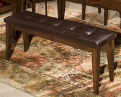 Intercon Solid Mango Wood Bench Kona INKACH1650B