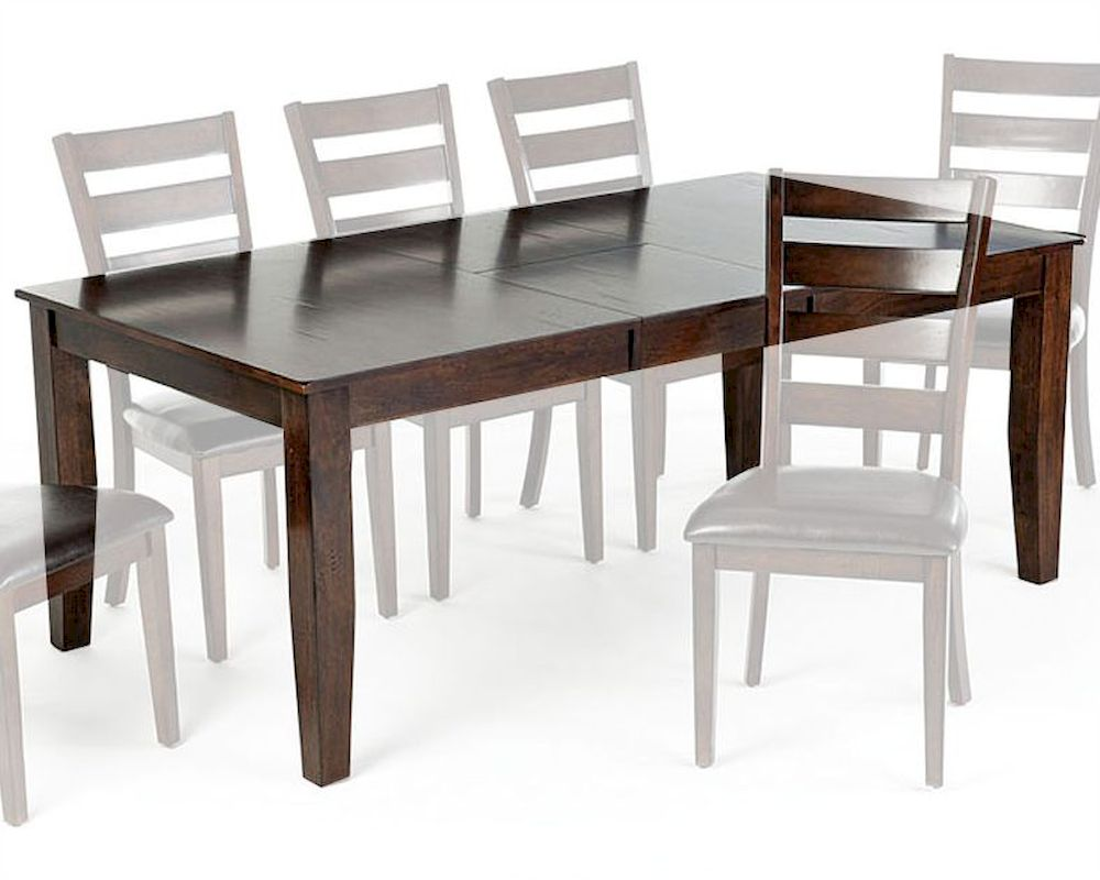 Intercon Solid Mango Wood Dining Table Kona INKA4278BTAB
